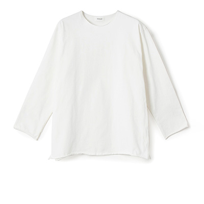 thicken cotton l/s tee