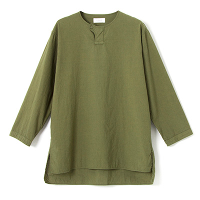 cotton linen cloth pullover