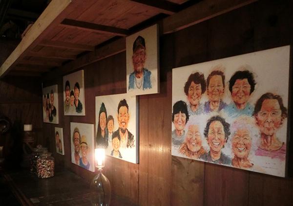 灯される出会い、つなぐ日々 笑達 似顔絵展「日々をつなぐ」企画コンテンツ