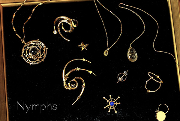Nymphs Jewelry collection  circle,black hole in かぐれ丸の内